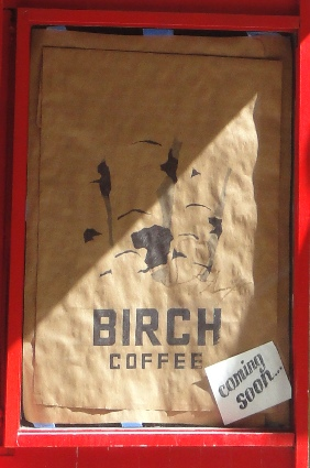 birch coffee coming soon