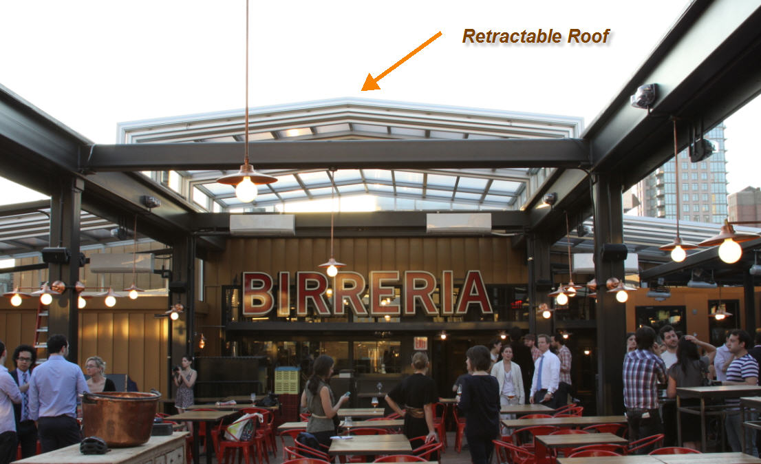 The Eataly Rooftop Brewery Restaurant