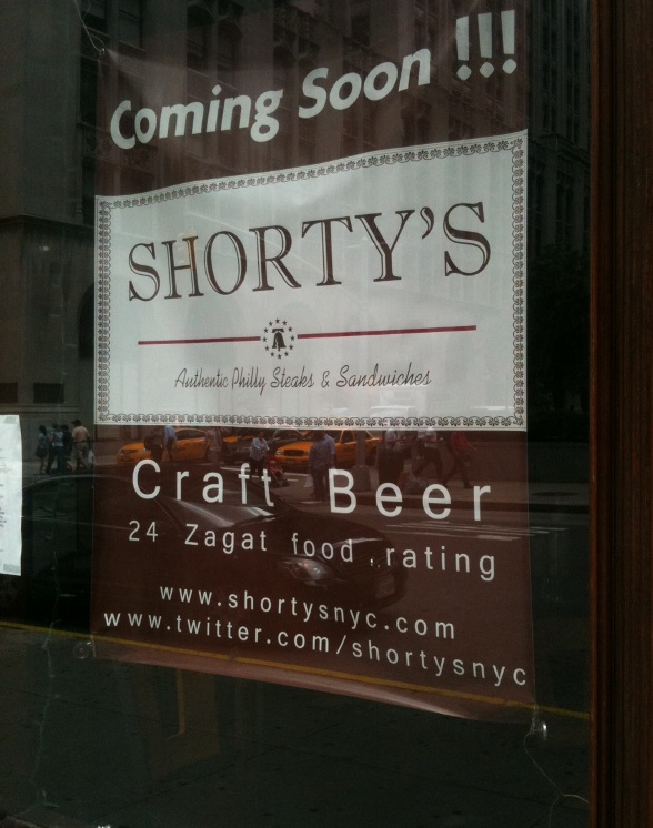 Shorty's Authentic Philly Steaks & Sandwiches will open up a second ...