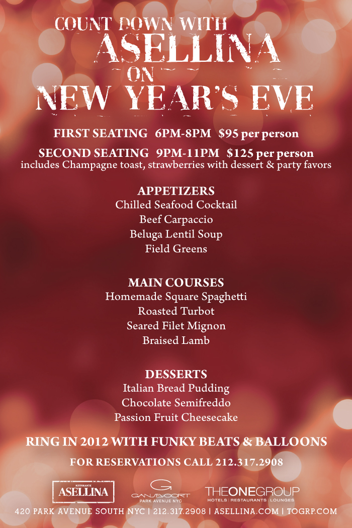 Updated!) New Year\'s Eve roundup in the Flatiron and Madison Square ...