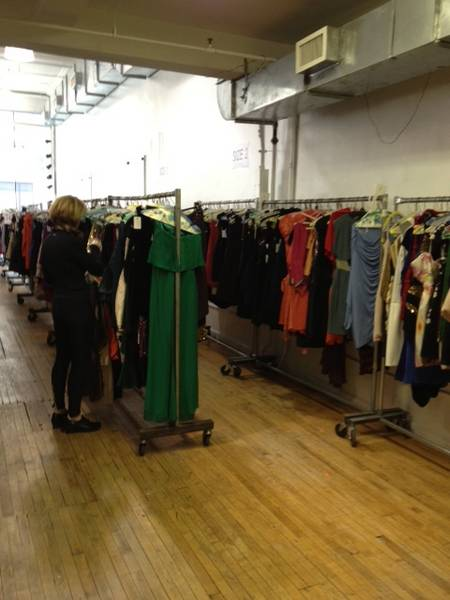 First reports from the Rent the Runway sample sale | MadParkNews ...