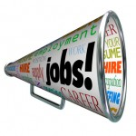 Jobs Bullhorn Megaphone Career Work Employment