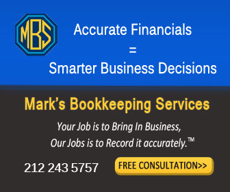 NYC small business bookkeeper