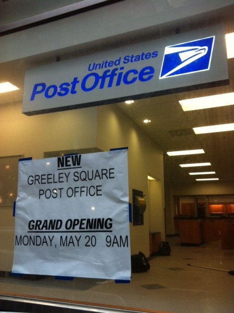 madison square park post office may 20