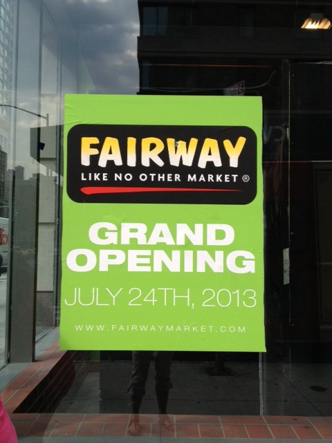 fairway flatiron opening sign