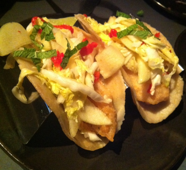 Review of abc cocina in the flatiron new york city for Side dishes for fish tacos