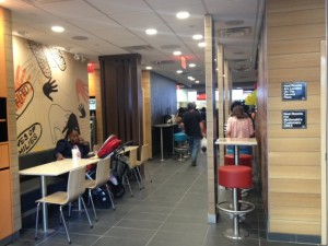 mcdonalds one madison park interior