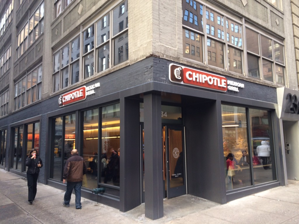chipotle 234 5th avenue open