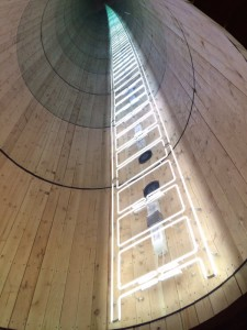 water tower ladder