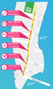 summer streets 2014 map