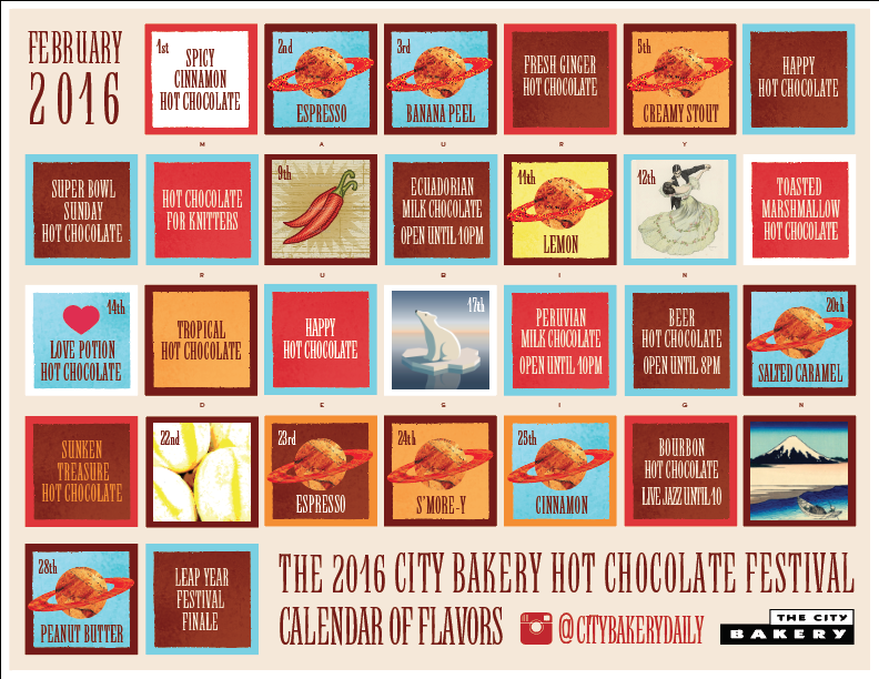 city bakery hot chocolate 2016